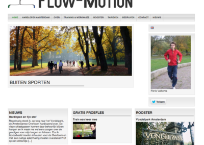 Flow-motion