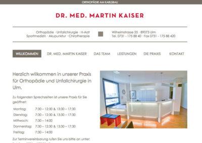 Website Orthodopedie praktijk