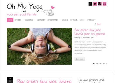 Yoga magazine website