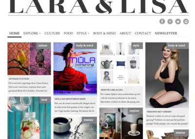 Online magazine Laralisa