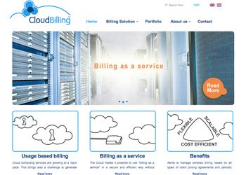 CloudBilling – Multilingual website