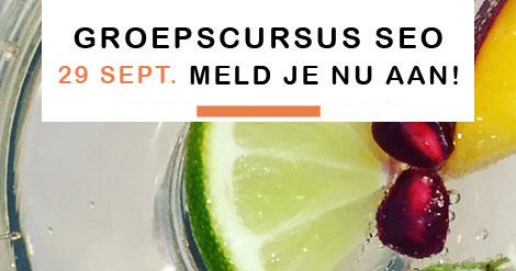 cursus SEO AMsterdam