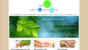 WordPress website Therapeut