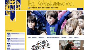 Website Prof. Kohnstammschool