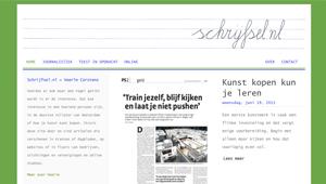WordPress site tekstschrijver