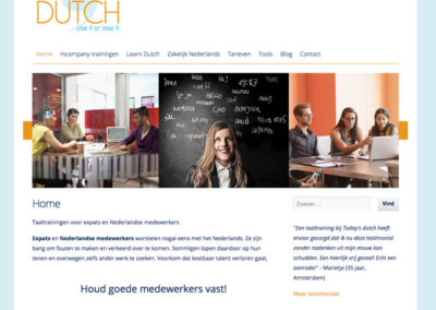 Talencursus website