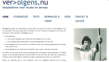 Studiekeuze WordPress website