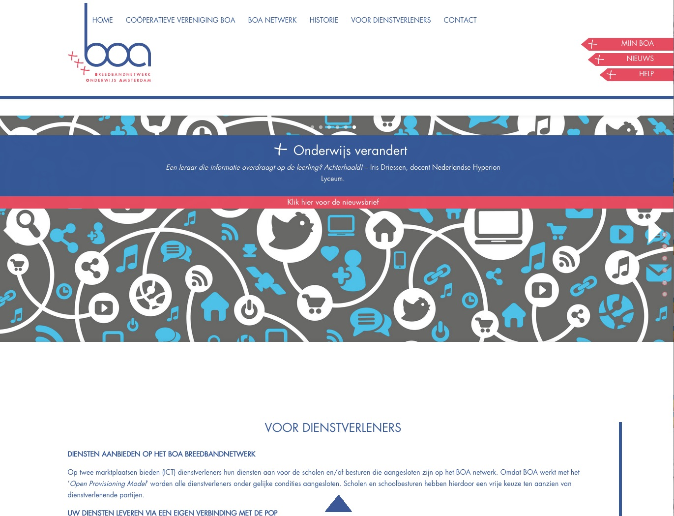 WordPress website op maat gemaakt Amsterdam
