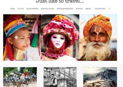 Just like to travel: reisverhalen