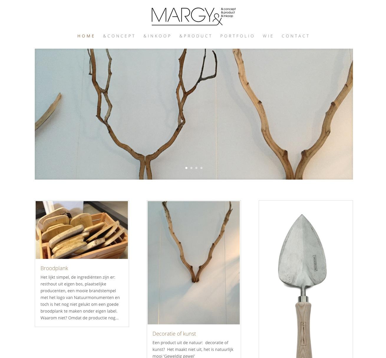 wordpress website minimalistisch fris cursus