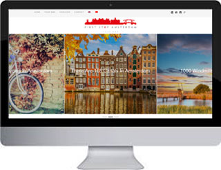 Een tweetalige website FirststopAmsterdam