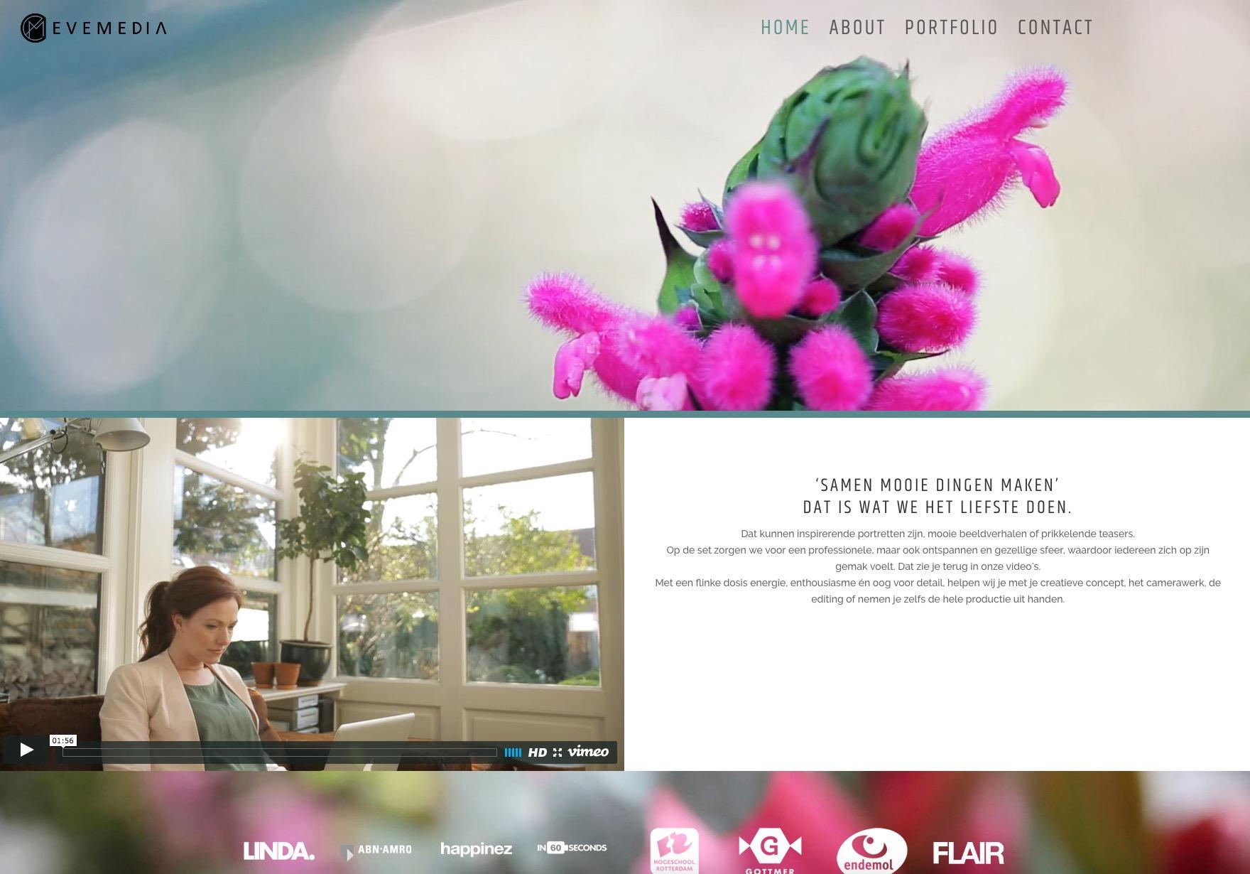 filmmaker website wordpress
