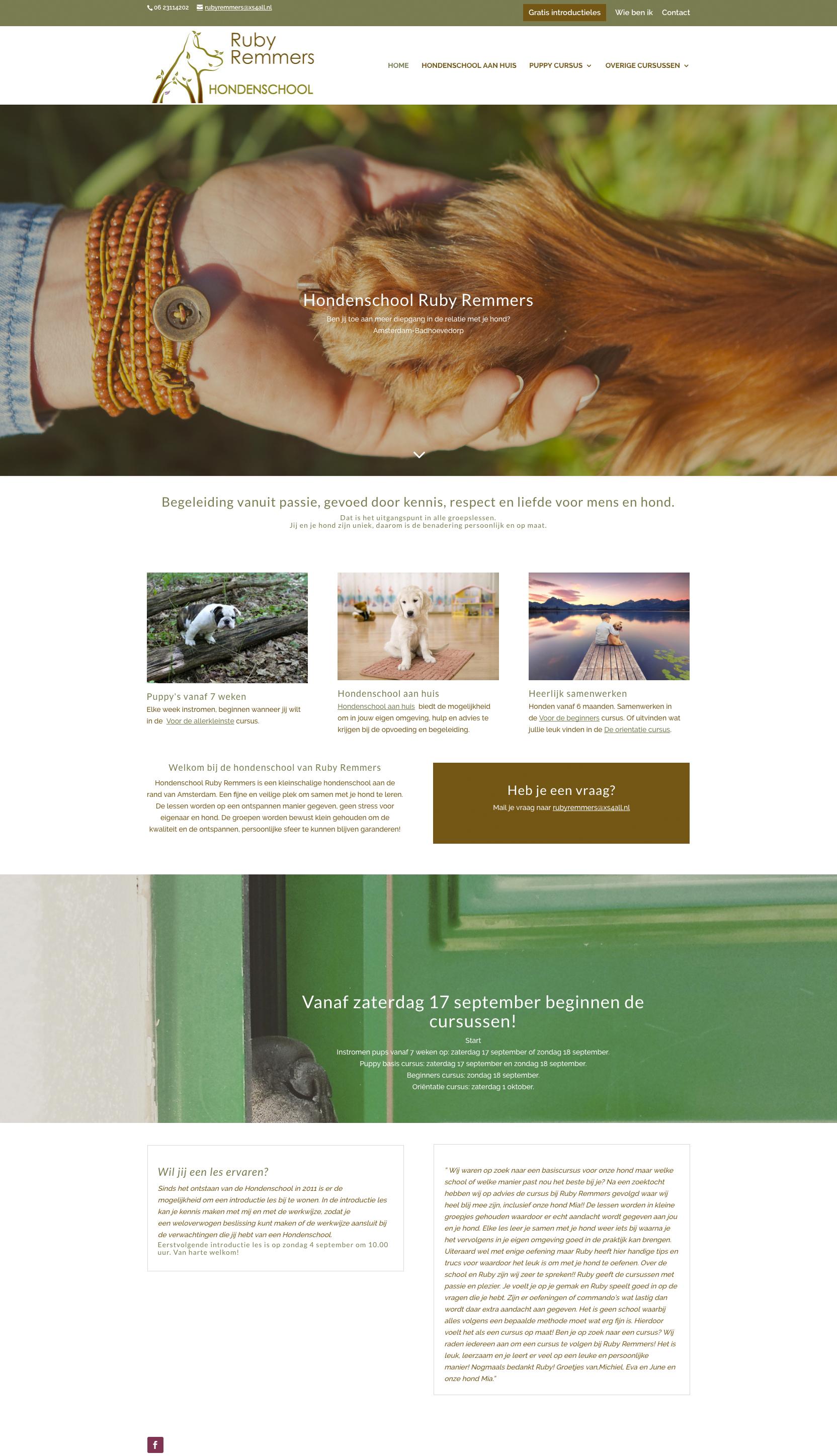 Hondenschool-Ruby-Remmers-portfolio