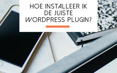 Hoe installeer ik een plugin in WordPress?