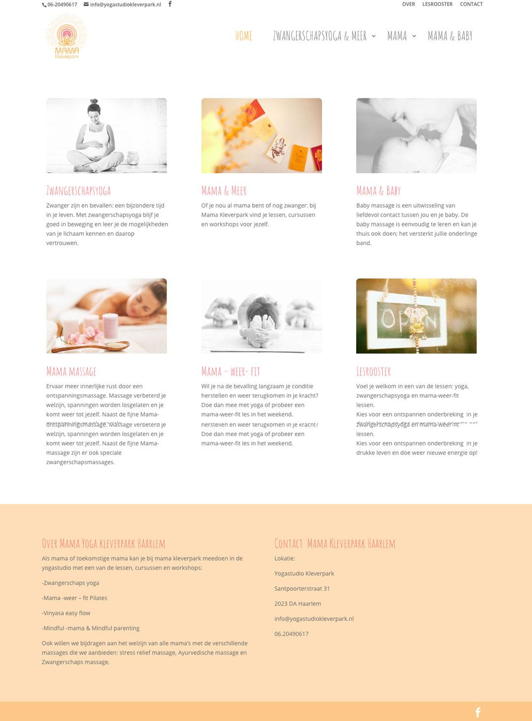 wordpress_website_voorbeeld_zwanger_haarlem_yoga