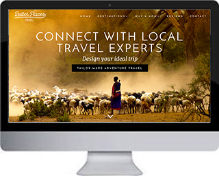 Betterplaces Travel website