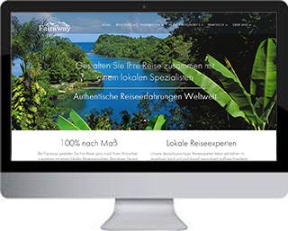 Duitse reiswebsite