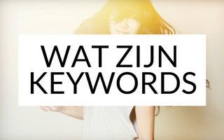 Wat zijn keywords / zoekwoorden?