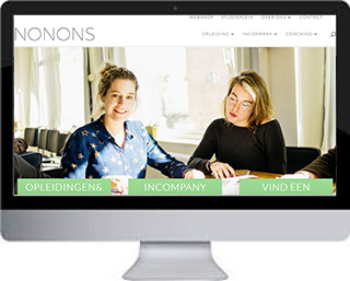 NONONS website / webshop / studieplein