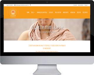 Website Yogastudio Kleverpark Haarlem