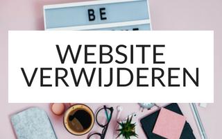 website verwijderen