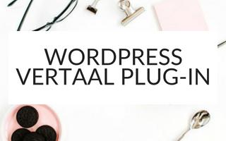 WordPress vertalen met WPML