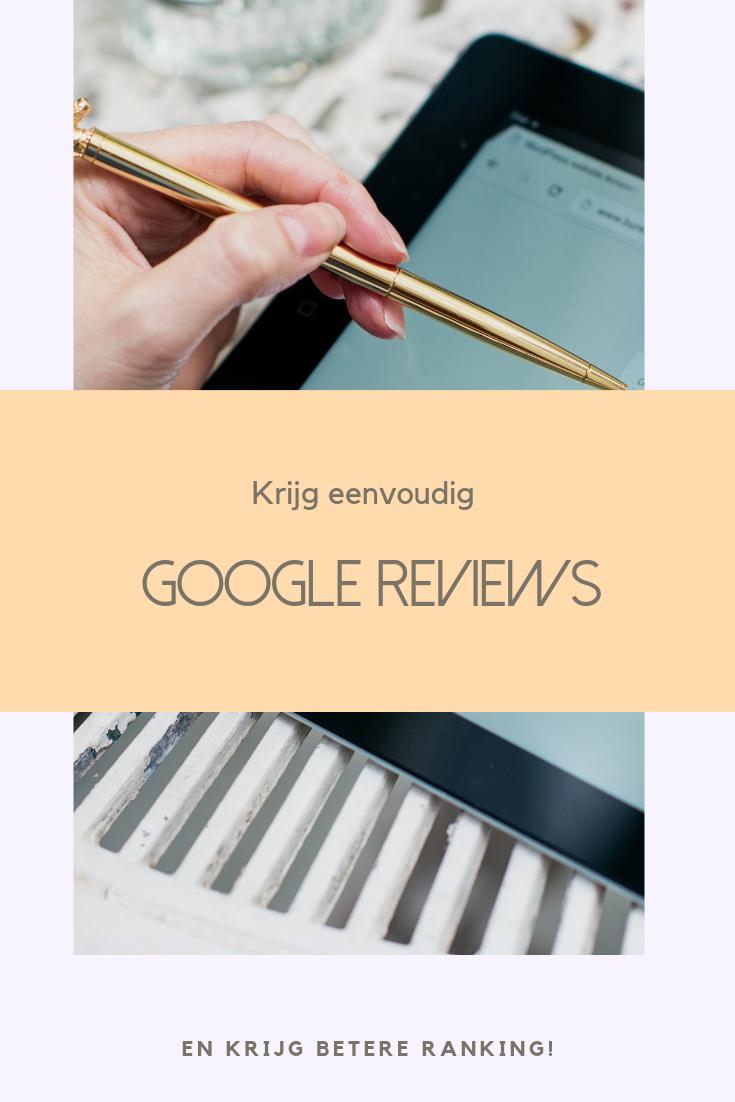 Google review link eenvoudig aanmaken en naar je klanten sturen