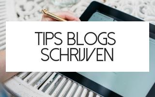 blog schrijven tips