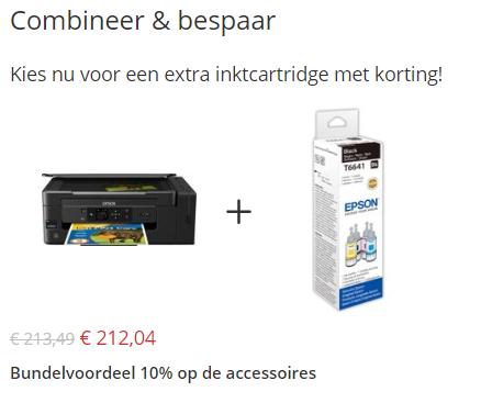 cross selling combinatie