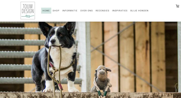 niche product hond voorbeeld