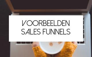 voorbeeld sales funnel