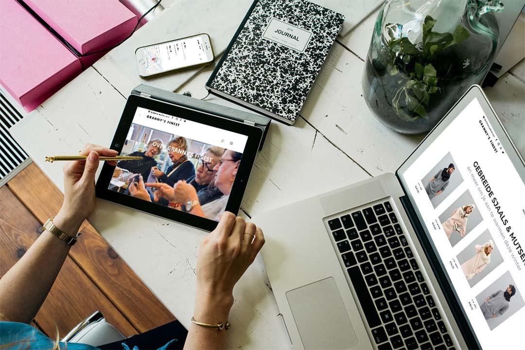 WordPress webshop social enterprise