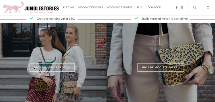 niche webshops hype