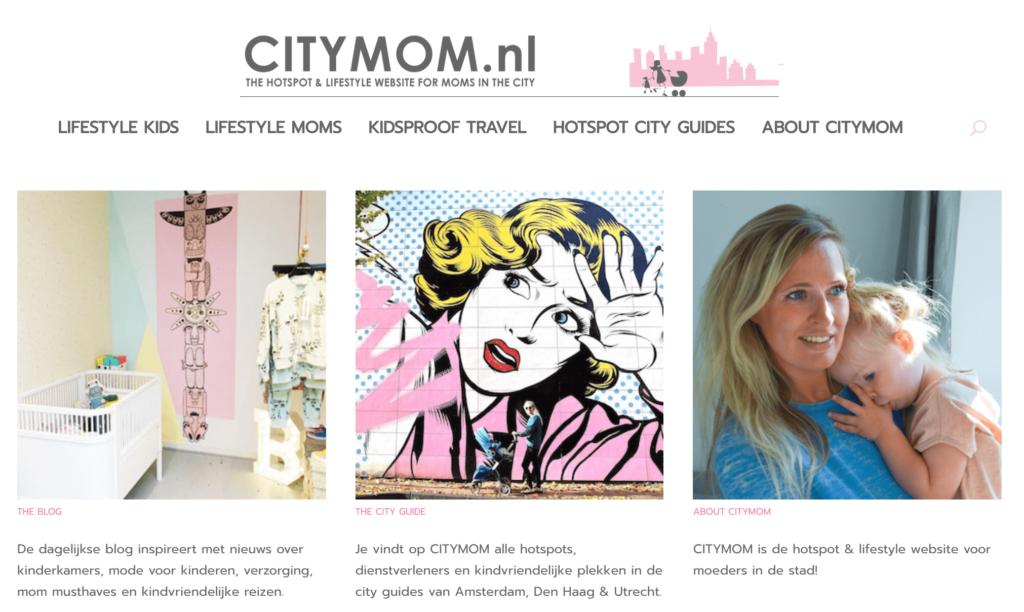 succesvolle blogs voorbeelden citymom