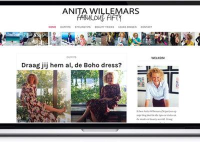 Voorbeeld WordPress website Divi Child