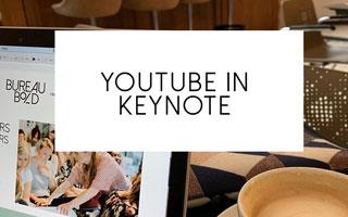 Youtube video in keynote of powerpoint