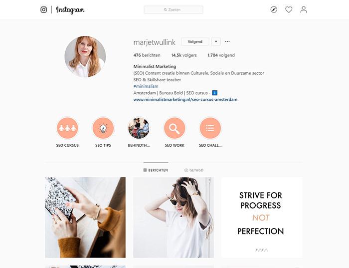 Instagram profielfoto bekijken