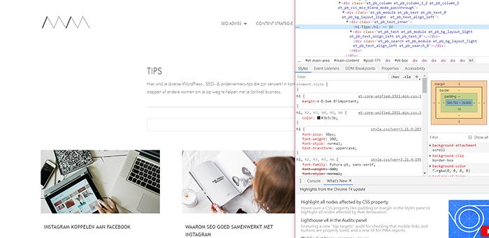 Wordpress lettertype aanpassen