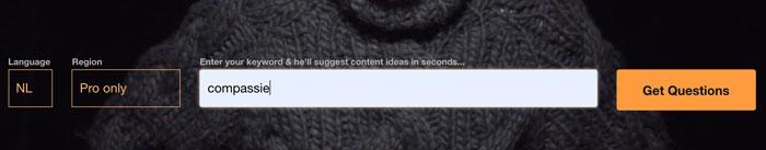 blog onderwerpen bedenken tool