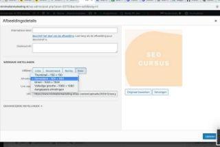WordPress foto onscherp, wazig of korrelig?