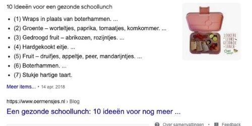 Google samenvattingen