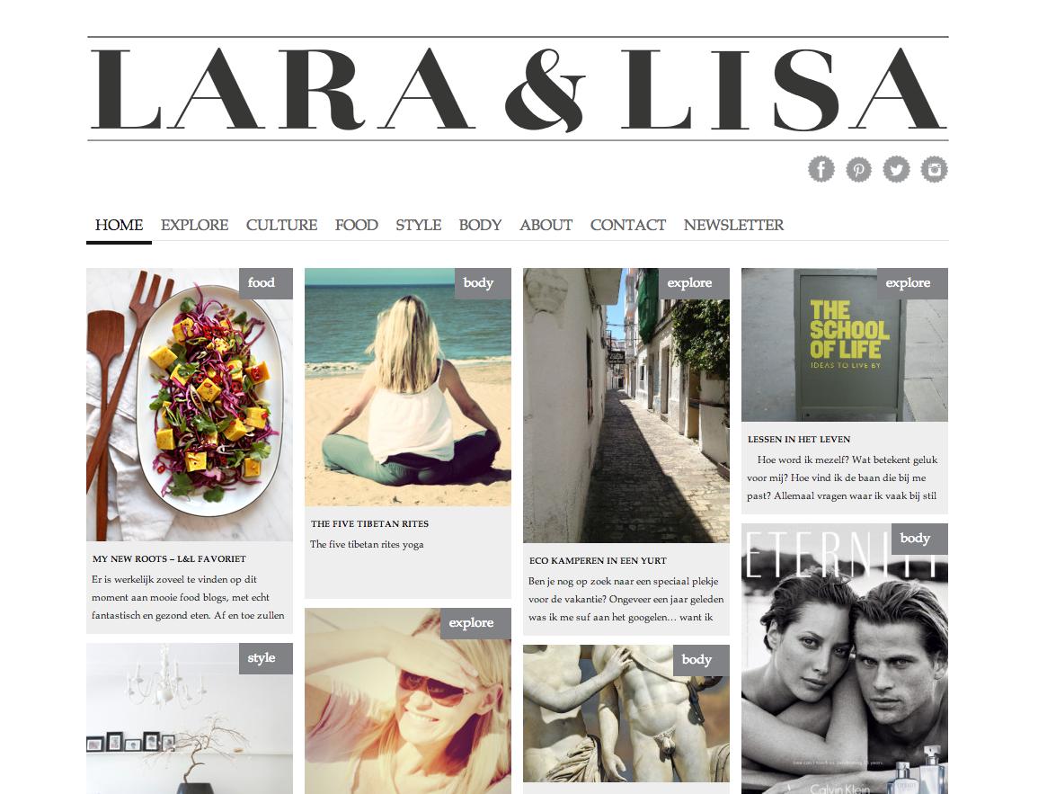 Online magazine laralisa seo cursus amsterdam wordpress Internet magasin
